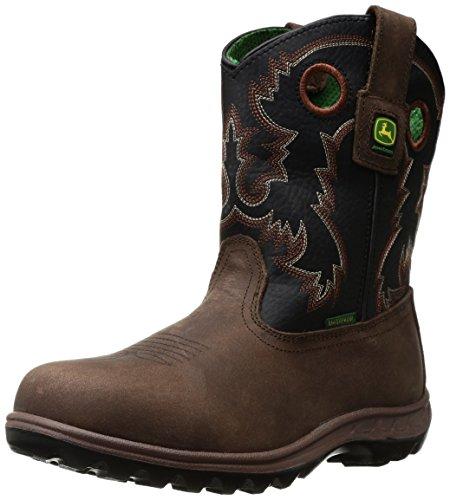 John Deere Baby Jd3410 Western Boot  Brown  6 5 Medium Us Big Kid