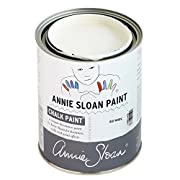 CHALK PAINT (R) by Annie Sloan – Decorative paint for furniture, cabinets, floors, home decor, and accessories – Water-based – Non-toxic – Matte finish (Quart - 32oz, Old White)