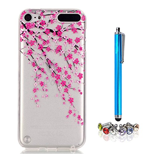 A9H iPod Touch 5G / 6G Hülle Case Cover Painting TPU Crystal Clear Tasche Handyhülle Schutzhülle 09HUA