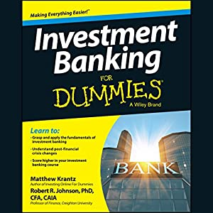 Investment Banking for Dummies Audiobook