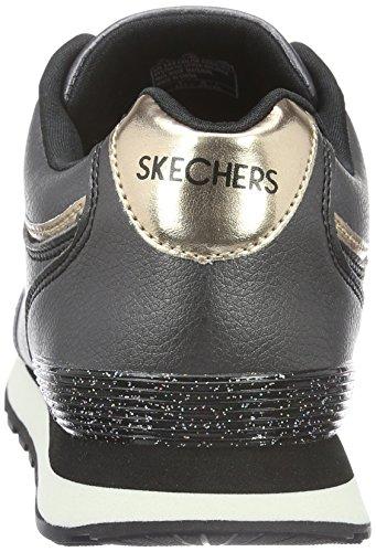 Zapatillas Blk para nbsp;Shimmers Skechers OG 82 Mujer BRqP0