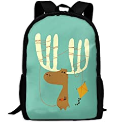 """Front Zippered Pocket To Hold Other Items Securely. The Large, Main Compartment Will Hold Your """"big"""" Items: Wallet, Camera, Toys, Diapers, Lunch And More.Shoulder Strap Is Adjustable,suitable For Most People.Personalized Cute Cool Printing De..."""