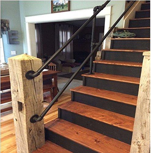 WGX Iron Handrail Stairs Kit Galvanized Pipe