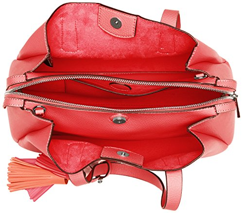Guess Hobo, Borsa a Spalla Donna, 14.5x24x36.5 cm (W x H x L) Rosso (Poppy)
