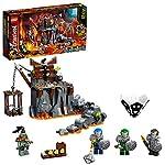 LEGO NINJAGO ViaggionelleSegretedeiTeschi, Playset da Costruire e Gioco da Tavolo 2in1, 71717  LEGO