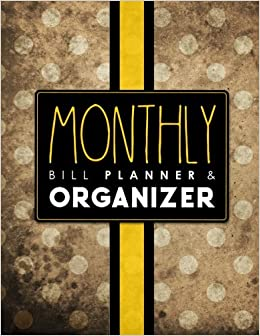 buy monthly bill planner organizer bill pay reminder house bill