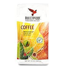 Bulletproof Upgraded 12 oz Coffee (French Kick Dark Roast Whole Bean) by BulletProof