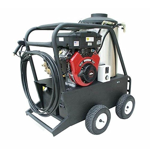 Cam Spray 4040QB Q Series Portable Diesel Fired Gas Powered Hot Water Pressure Washer, 4000 psi, 50' Hose
