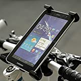 Motorcycle Bicycle,Treadmill, baby cart Handlebar Mount Holder for iPad Tablet