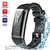 Fitness Tracker, TEYO Activity Tracker Watch with Heart Rate Monitor, Color Screen Smart