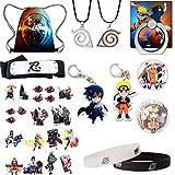 Naruto Bag Gift :Set Bag+Pendant++Headband with
