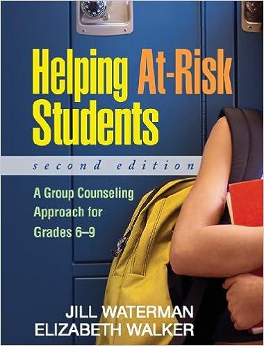 Helping At Risk Students Address >> Amazon Com Helping At Risk Students Second Edition A Group