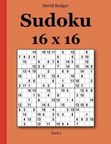 Sudoku 16 x 16 Band 3