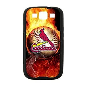 St. Louis Cardinals Team Background Design for Samsung Galaxy S3 i9300 Case (Laser Technology)-by Allthingsbasketball by icecream design