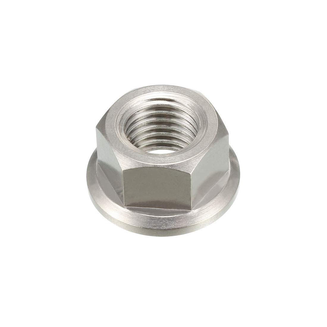 uxcell 5//16-18 Nylon Insert Hex Lock Nuts Plain Finish Pack of 25 304 Stainless Steel