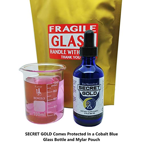 Secret Gold - Colloidal Gold | Nano Gold • #1 Rose Gold