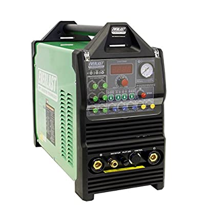 2017 Everlast PowerPro 256Si 250a AC DC TIG Pulse 60a plasma cutter Multi Process Welder