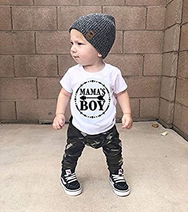 FELAK Fall Winter Toddler Infant Baby Boy Clothes Long Sleeve Hoodie Tops Sweatsuit Pants Camo Outfit Set for Kids