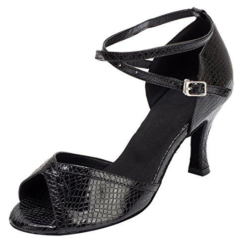 TDA - Zapatos con tacón mujer 7.5cm Heel Black