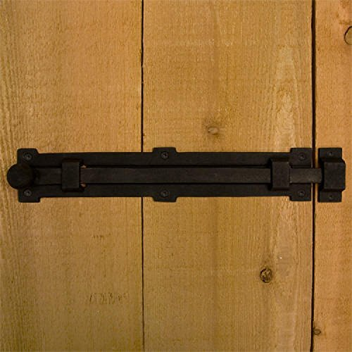 Casa Hardware Countryside Iron Surface Bolt - 12