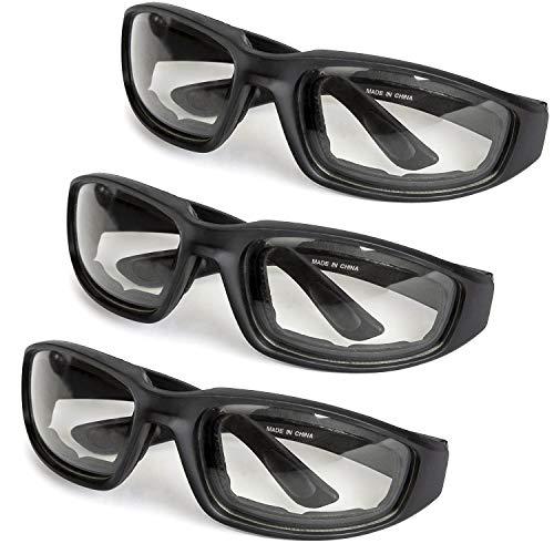 3-Pack Motorcycle Glasses