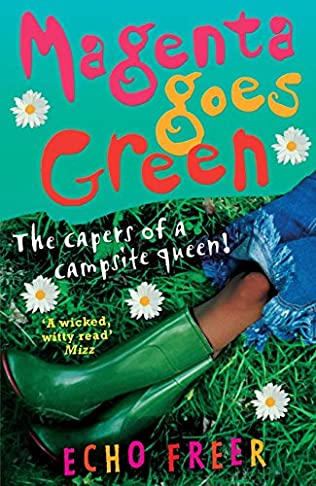 book cover of Magenta Goes Green