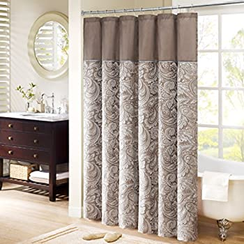 Madison Park MP70 224 Aubrey Shower Curtain 72x72 Blue72x72