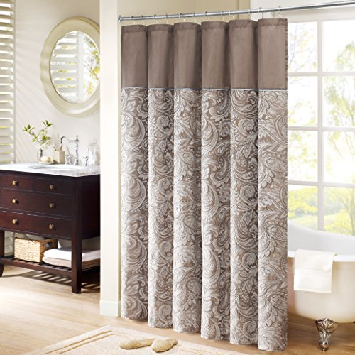 Madison Park MP70-224 Aubrey Shower Curtain 72x72