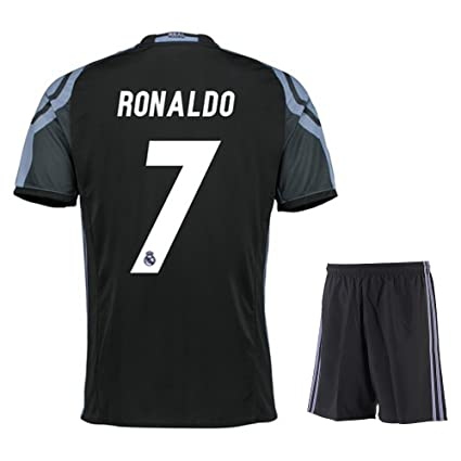 premium selection 474af e2b2d 2016 Real Madrid Third Ronaldo #7 Adult 2016-2017 with Free Short a Set
