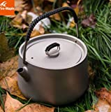Fire Maple Titanium Outdoor Camping Pinic Coffee Tea Pot Teapot Kettle 185g 1L