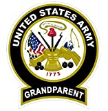 1 Pc Sumptuous Fashionable United States Army Grandparent Sticker Signs Vinyl Bumper Military Size 4.5