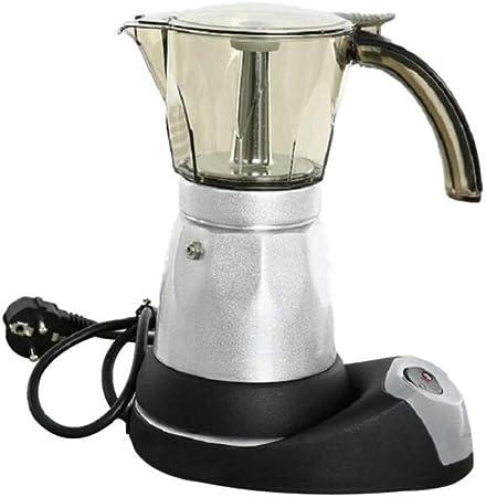 SYSWJ Cafetera 150Ml/300Ml Electric Coffee Maker Stainless Steel Espresso Mocha Coffee Pot Espresso Coffee Machine 480W,150Ml: Amazon.es: Hogar