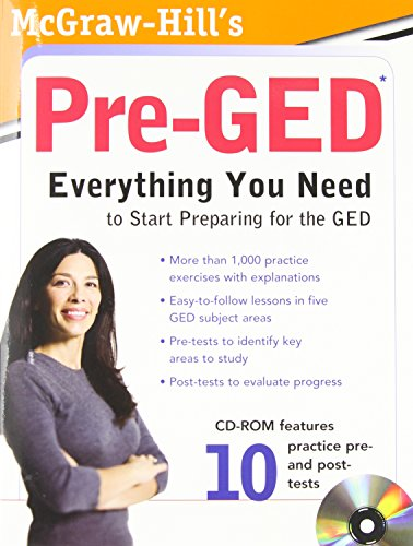 McGraw-Hill's Pre-GED with CD-ROM
