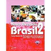Novo Avenida Brasil A2: Kurs- und Übungsbuch + Audio-CD