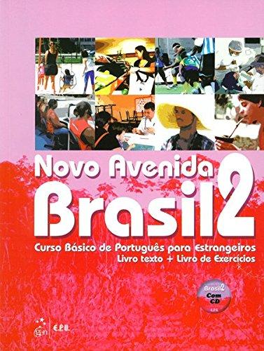 Novo Avenida Brasil A2  Kurs  Und Übungsbuch + Audio CD