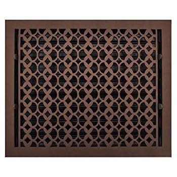 Amazon Com Cast Iron Floor Duct Cover 12x16 Brown Heat