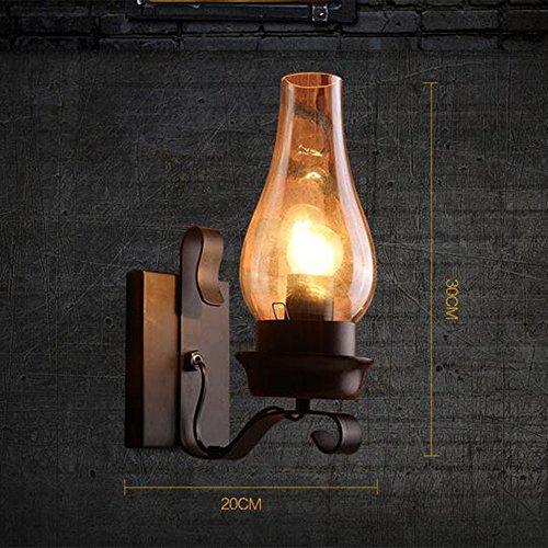 IndustrielleLampe En Verre Applique Abat Jour Vintage Murale 35Lqjc4RA