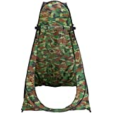 Leapair Shower Tent Portable Camping Beach Toilet Pop Up Tents Changing Room Outdoor Backpack Bag