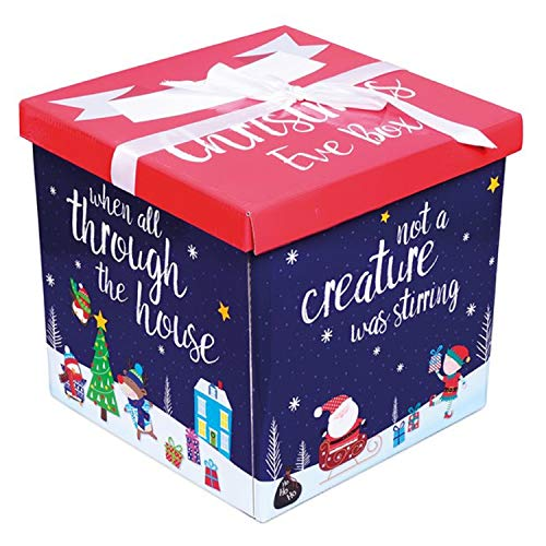 Twas The Night Before Christmas Santa & Friends Christmas Eve Box Hamper Festive Fun Family Tradition Xmas Present Gift Decoration