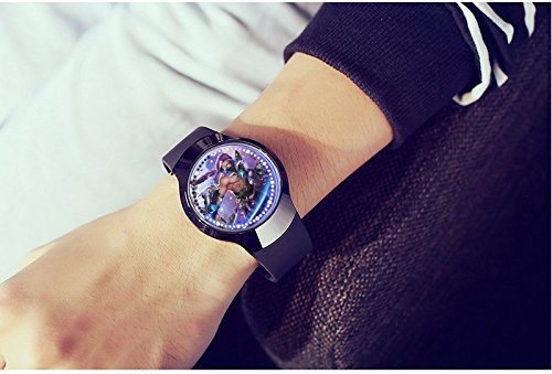 JEGOAU . touch screen waterproof watch game around li bai hanxin led  electronic watch men man 7b4a38c6914b6