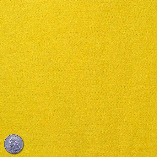 Yellow Acrylic Felt - 9