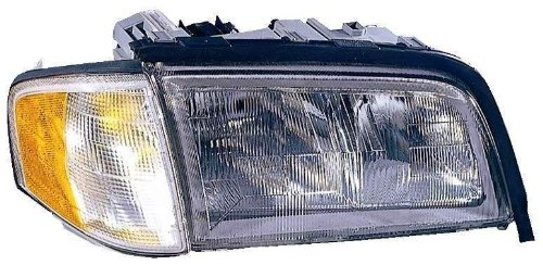 Depo 340-1101R-ASC Mercedes-Benz C-Class Passenger Side Replacement Headlight Assembly with Corner Light