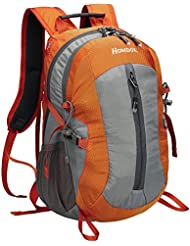 Homdox 25L Unisex Outdoor Sports Backpack with Lifesaving Whistle and Waterproof Covers, Perfect for Hiking Climbing...