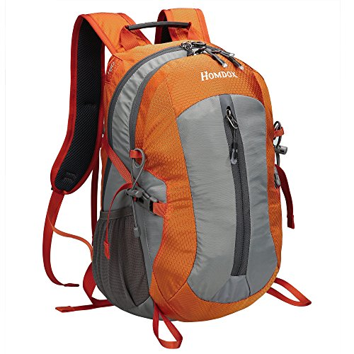 Homdox 25L Unisex Outdoor Sports Backpack with Lifesaving Whistle and Waterproof Covers, Perfect for Hiking Climbing Camping Travelling - Liter 25 Backpack