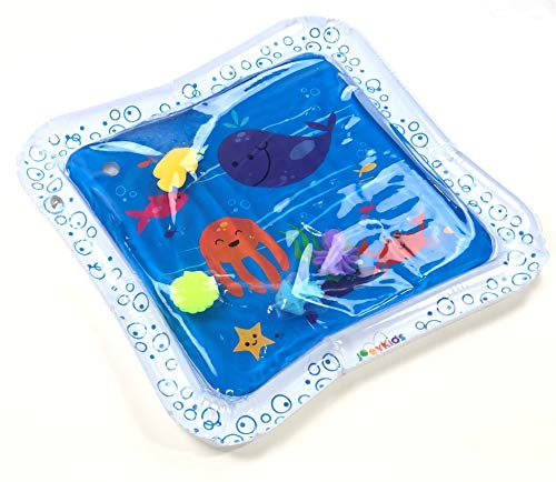 JoeyKids Inflatable Baby Water Mat - Large 24
