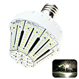 Phenas 50W LED Corn Light Bulb, Large Mogul E39 Base, 5000K, 360° Street/Garden Lighting Replacement for 300W to 500W Metal Halide Bulb, HID, CFL, MH, HID, HPS(UL- Listed)