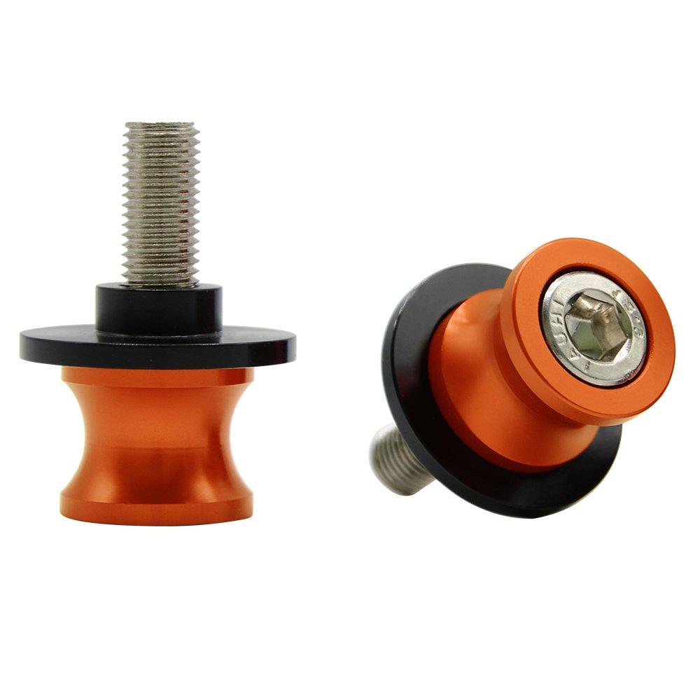 2tlg M10*1,25 Montagest/änder Racingadapter St/änderaufnahme f/ür Duke 125//200//390 RC 125//200//390 Kawasaki Ninja 250R//650R ZX6R//9R//10R//12R//14 Z1000 ZRX1100//1200 ZZR600 Yamaha FZR 1000//600R//400 Gold