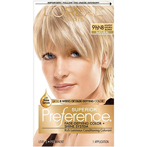 Haircol LOreal Preference Lightest Natural