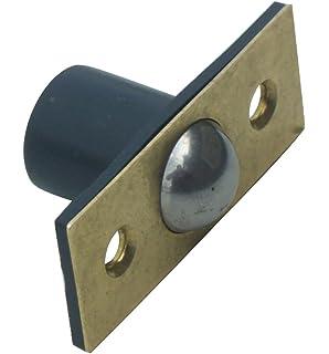 19mm BRASS BALES CATCH Ball Catch Mortice Door Cupboard Spring Roller Latch