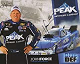 #2: JOHN FORCE HAND SIGNED 8x10 COLOR PHOTO+COA NHRA MUSTANG FUNNY CAR CHAMP - Autographed Extreme Sports Photos